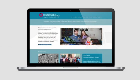 Coop and community finance website