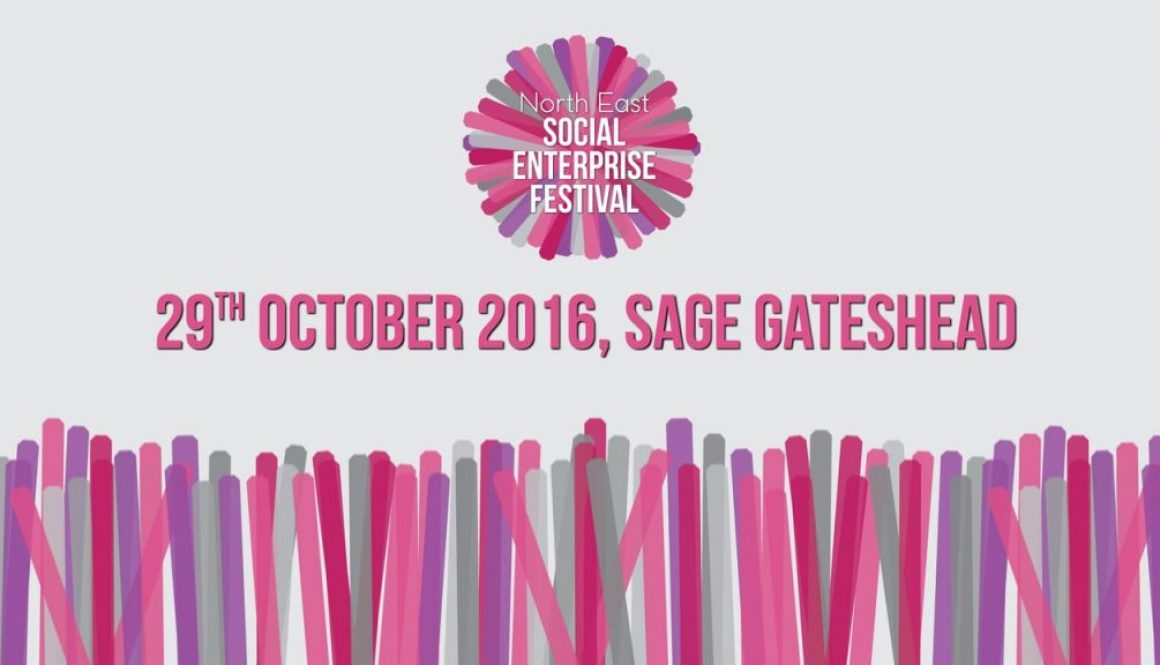North East Social enterprise Festival - logo, date and location