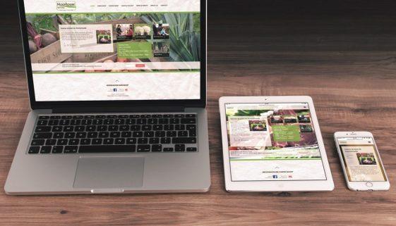 Moorhouse Farm Shop website